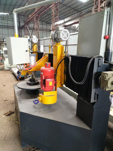 New stone cutting and rounding machine