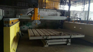 The new Xinxin infrared bridge cut 360 degree platform,Stone cutting machine