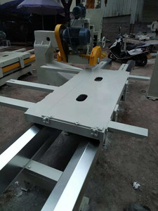 Renovated 4m old stone trimming machine / chamfering machine / earth gun